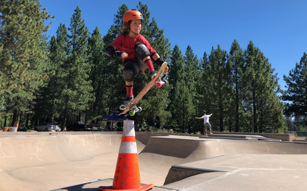 Air cone truckee summer skate
